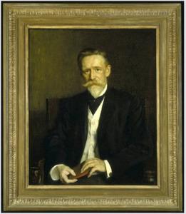 Portret van  C.H. (Casper Hendrik) Kuhn  (1848-1926)