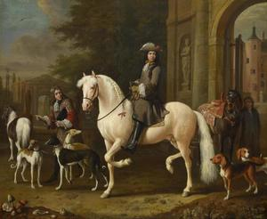 Ruiterportret van Joan Ortt (1642-1701)