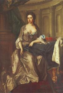 Portret van Anna (1665-1714), koningin van Groot-Britannië