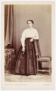 Portret van mw. Cornelie Catherine van der Sleyden (1844-1877)