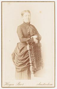 Portret van Cornelia Constantia Johanna van Mierop (1834-1928)