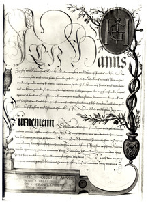 Allegorie op Joris Hoefnagel als geletterd kunstenaar