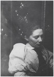 Portret van Saar de Swart (1861-1951)