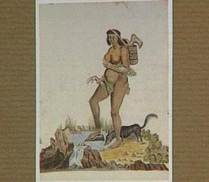 Tapuya vrouw uit Brazilië