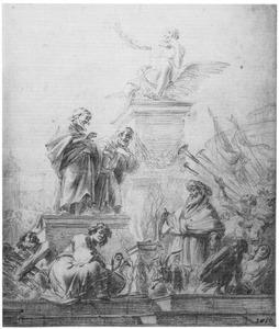 Paulus en Barnabas in Lystra (Handelingen 14:8-18)