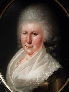 Portret van Clara Theodora van Wijngaarden (1742-1808)