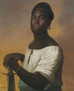 Portret van een onbekende zwarte man