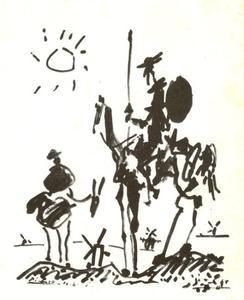 Don Quijote en Sancho Panza