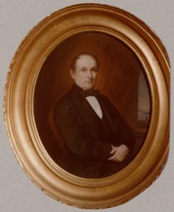 Portret van Bernardus Ewoud Cankrien (1808-1878)