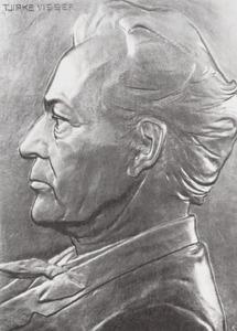 Portret van Cornelis van der Linden (1839-1918)
