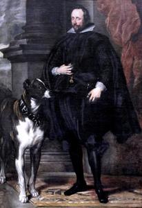 Portret van Wolfgang Wilhelm, paltsgraaf en hertog von Neuburg (1578-1653)