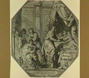 De geboorte van de Heilige Maagd