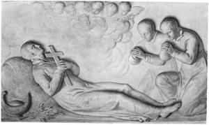 De H. Aloysius van Gonzaga SJ op zijn sterfbed