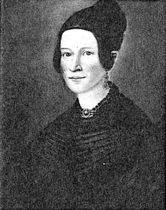 Portret van Johanna Aleida Wennink (1808-1887)