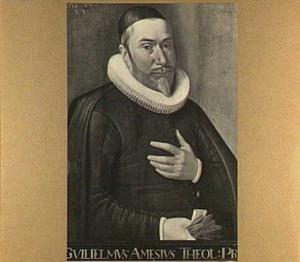 Portret van Guiliemus Amesius (1576/1577-1632)