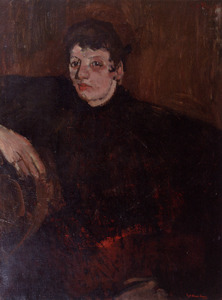 Portret van Maria Catharina Josephina Jordan (1866-1948)
