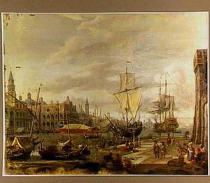 Gezicht op Venetië