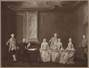 Portret van Floris Bontekoning (1712-1770) en zijn familie