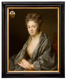 Portret van Machteld van Loon (1677-1717)
