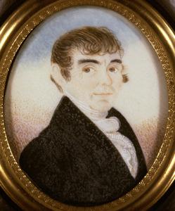 Portret van mogelijk Francois Reinier Joseph Dubois (1786-1825)