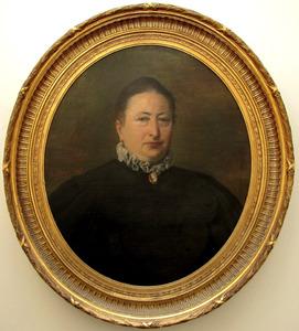 Portret van Petronella Anna Maria Verploegen (1838-1911)