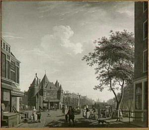 De Nieuwmarkt in Amsterdam
