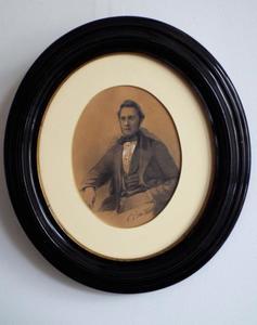 Portret van een man, mogelijk Jan Anthonie Davijt (1820-1873) of Jan Robertus Keuchenius (1836-1922)