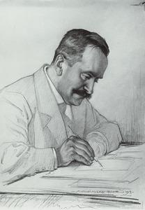 Portret van waarschijnlijk Clemens Meuleman (1871-1932)