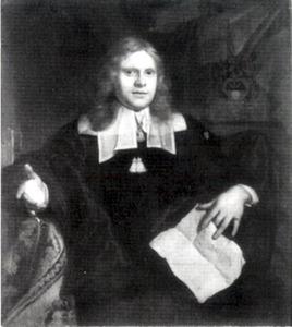 Portret van Bernhard Coornhard (1635-1681)
