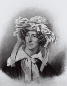 Portret van Bernardine Francoise Suerman (1810-1833)