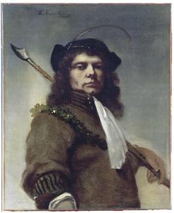 Zelfportret als herder