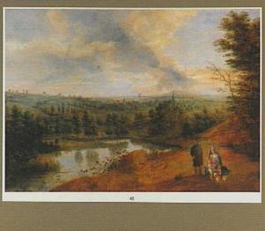 Weids landschap met de H. Familie en Johannes de Doper