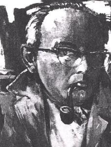 Portret van Jentinus Ponne (1910-1967)
