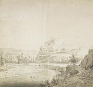 Het kasteel van Francheville bij Lion