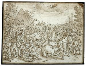 De dood van Camilla (Vergilius, Aeneis XI:785-835)