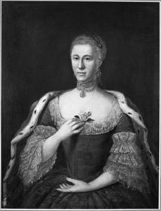 Portret van Elisabeth Agnes Jacoba van Nassau -la Lecq ( -1798)