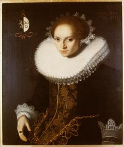 Portret van Anna van Vianen (1603-1638)