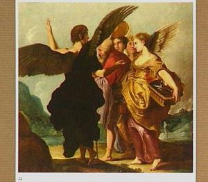 Lot en zijn gezin verlaten Sodom (Genesis 19:24-29)