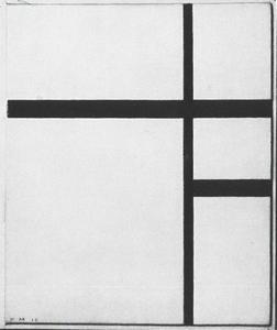 Composition en blanc et noir I