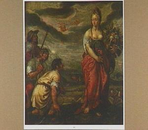 Aanbidding van Demeter, de godin van de vruchtbaarheid