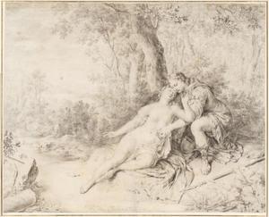Cephalus vindt de gewonde Procris