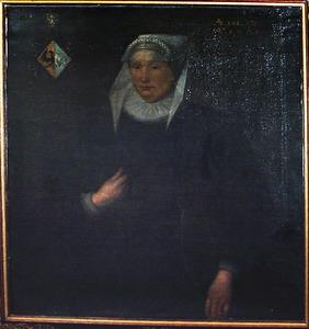 Portret van Titia Tritzum
