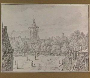 Het Vredenburg en de Buurkerk te Utrecht
