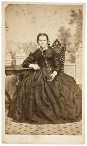 Portret van Helena Frederika van Kapel (1837-1868)