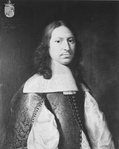 Portret van Johan Lewe (1622-1671)