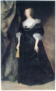 Portret van Christiana Bruce, Lady Cavendish, Countess of Devonshire (?-1675)
