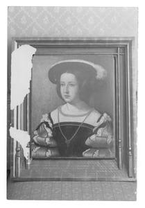 Portret van Mencia Mendoça