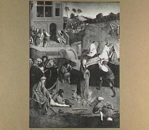 Het martelaarschap van de H. Lucia