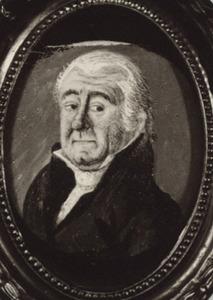 Portret van Wilhelmus van Dam (1719-1803)