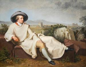 Goethe in de Campagna Romana